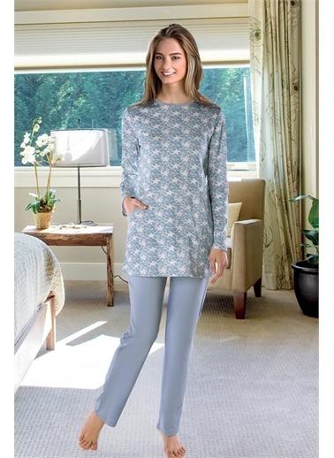 Doremi Pijama Takım Mavi